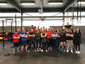 Gruppenbild after workout Crossfit duesseldorf